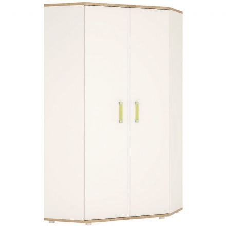 4KIDS Corner wardrobe with Opalino handles